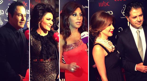 بالصور: كوكبة من نجوم الوطن العربي في سحور الـ م بي سي في دبي وهذه التفاصيل