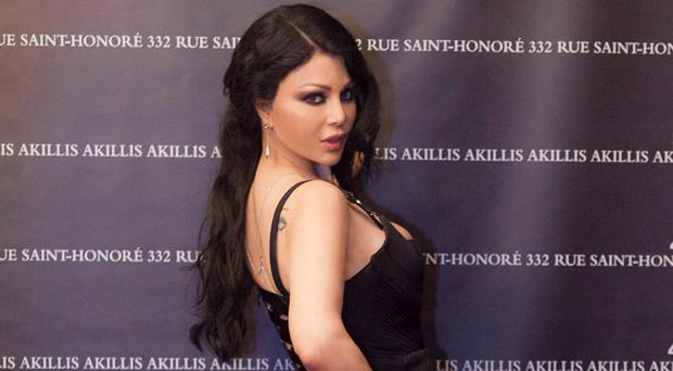 أولاً بالصور: هيفاء وهبي العربية الوحيدة التي مثلت الشرق الأوسط لدى Akillis
