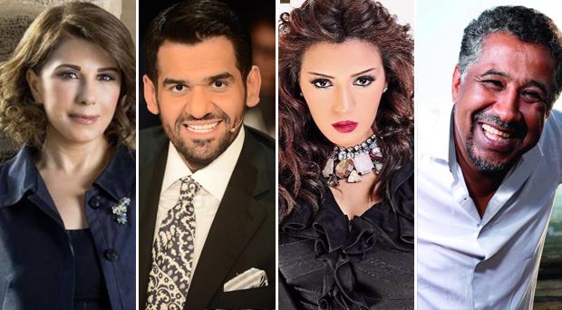 ماجدة الرومي، الشاب خالد، حسين الجسمي، أسماء المنور ولطفي بوشناق معاً في قرطاج