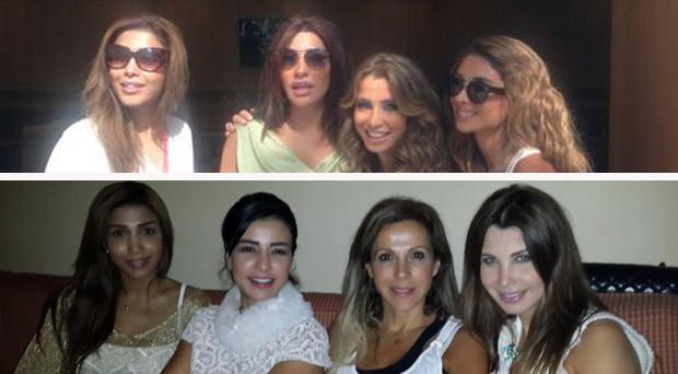 محدث: نجوى كرم، نانسي عجرم، أروى، ماغي بو غصن، راغب علامة ونجوم الوطن العربي في ضيافة الـ م بي سي
