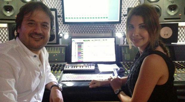 بالصورة: نانسي عجرم في إستوديو جان ماري رياشي والعد العكسي للألبوم بدأ
