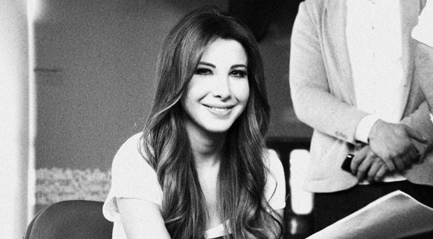 أولاً بالصور: نانسي عجرم في الإستوديو تحضر للألبوم وهذا ما صرحت به شركة أرابيكا