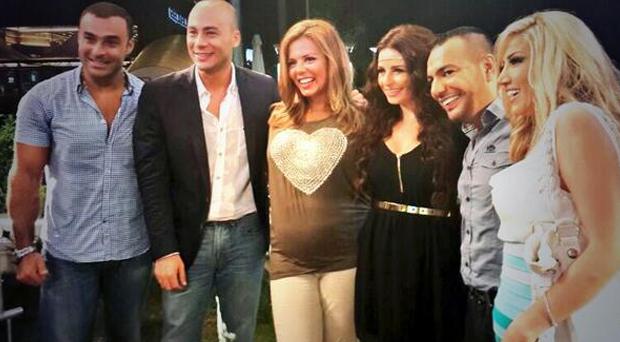 أنجو ريحان،غسان المولى، إيمي وميريام عطالله ضيوف الحلقة التاسعة من برنامج نورنا الليل