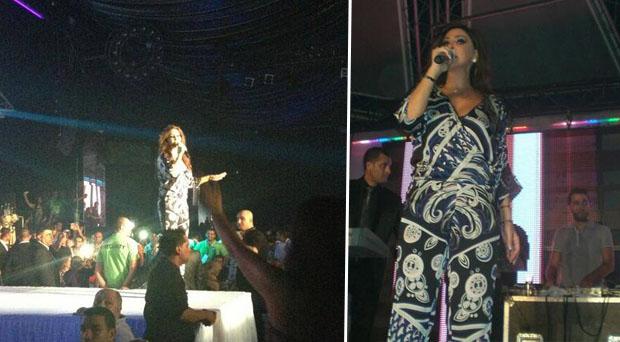 بالصور: جمهور تونس هتف بأعلى صوت وأمضى سهرة وصفت بالمظاهرة الجماهيرية مع إليسا