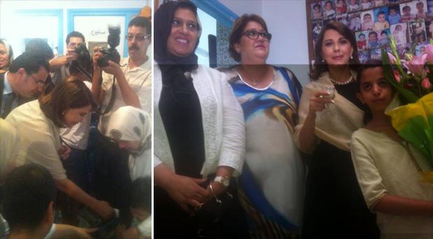 بالفيديو والصور: السيّدة ماجدة الرومي زرعت السلام ونشرت المحبّة في زيارة  إنسانية لمستشفى القرطبي