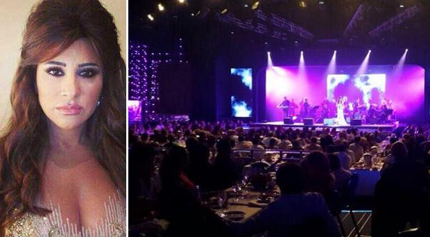 """بالصور: شمس الأغنية اللبنانية أشرقت في مونتي كارلو في """"ليلة من الشرق"""" بحضور نجوى كرم"""