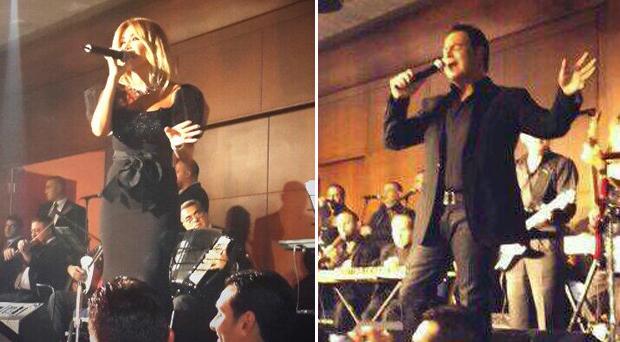 بالصور: عاصي الحلاني حطّم المسرح غناءً ونوال الزغبي أشعت ذهباً