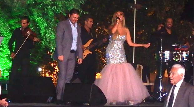 """نورهان وربيع الأسمر إجتمعا على أغنية """"حبيبي يا عيني"""" في حفل زفاف خاص في البقاع"""