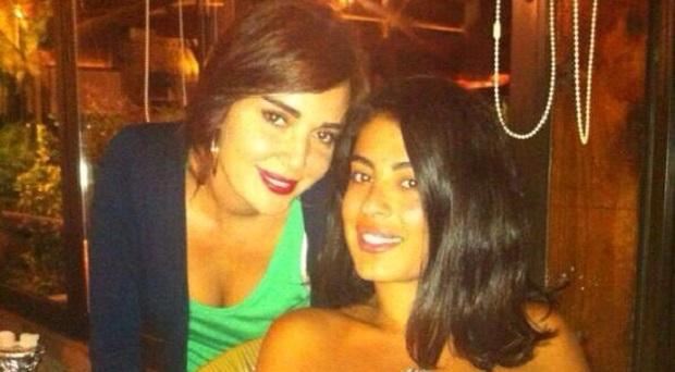 بالصور: سيرين عبد النور إحتفلت بعيد ميلاد صديقتها مصممة الأزياء مايا