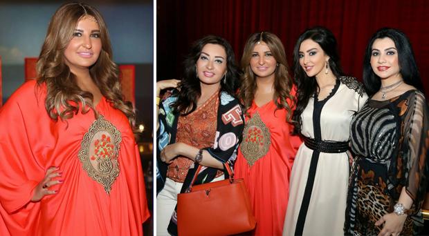 بالصور: سحور شذى حسون على شرف أصدقائها في دبي