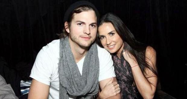 Demi Moore وAshton Kutcher معاً بالرغم من الطلاق