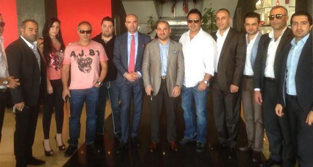 بالصور: عاصي الحلاني مع كبار رجال الأعمال في إربيل وهذا موعد صدور الألبوم النهائي