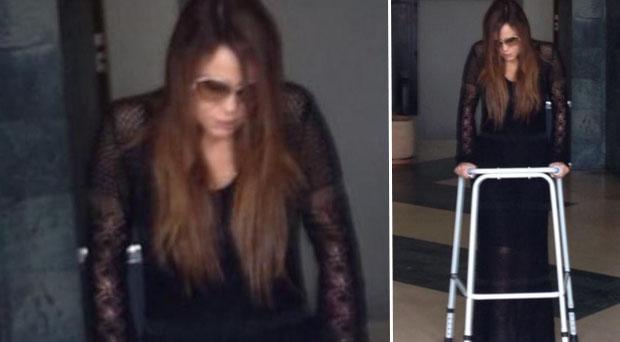 """""""هلليلوليا"""" كارول سماحة على ساقيها من جديد بعد 39 يوم"""