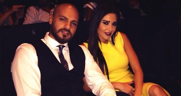بالصورة: سيرين عبد النور أشعت بالأصفر وشاهدت حبّة لولو مع جوزيف عطيّة