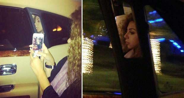 بالصور: ميريام فارس إلى زرّ النخيل في دبي وتثير التساؤلات
