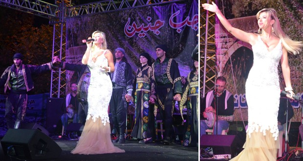 """ناي سليمان أميرة أشعت بالأبيض في جبّ جنين، أشعلت الحضور في """"كواليس"""" وأغنية جديدة"""