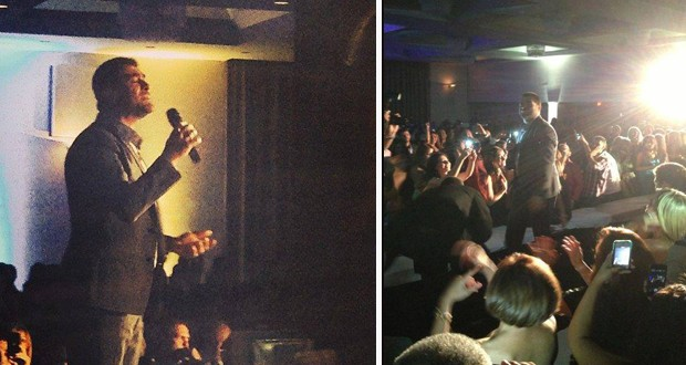 بالصور والفيديو: وائل كفوري أحدث إعصاراً عربياً في أولى حفلات جولته الأمريكية