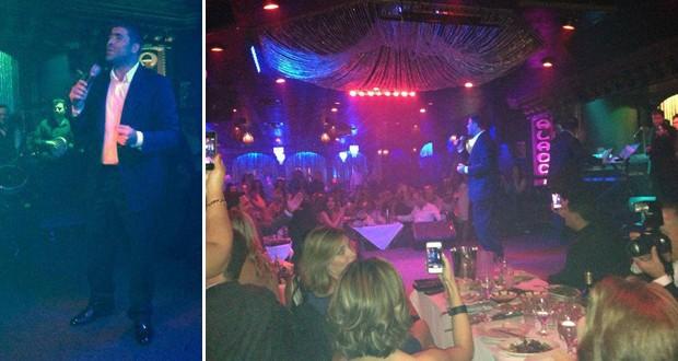 بالصور: وائل كفوري يشعل Aladdin Club في أجمل سهرات New Jersey