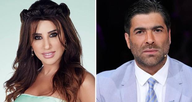 خاص وحصري: وائل كفوري زار نجوى كرم وقام بتعزيتها بوالدها المرحوم