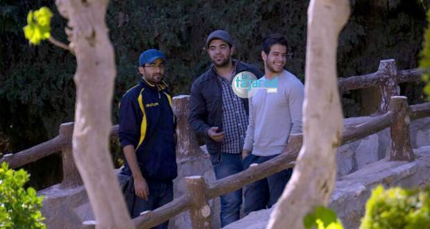 بالصور:  Paparazzi بتجرد يرصد أدهم نابلسي في الجامعة