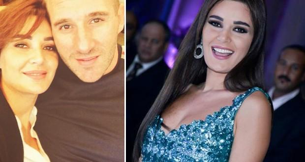 بالصورة: سيرين عبد النور مع زوجها فريد رحمة إلى دبي