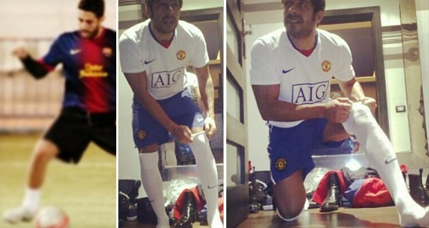 بالصور: محمد حماقي يرتدي جوارب كرة القدم حصرياً عبر حسابه الخاص على Instagram