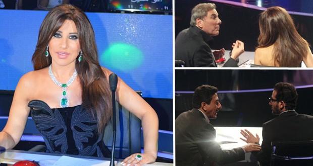 مسرح AGT إهتزّ بالمواهب، نجوى كرم داست على حزنها وأشعت أناقةً ورصانة بين علي جابر، ناصر القصبي وأحمد حلمي