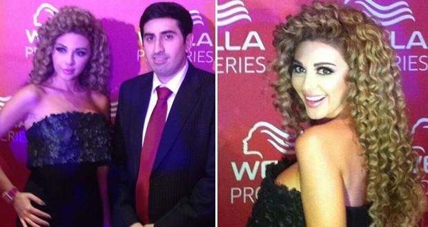 أولاً بالصور: ميريام فارس سفيرة Wella في الشرق الأوسط في حفل ضخم