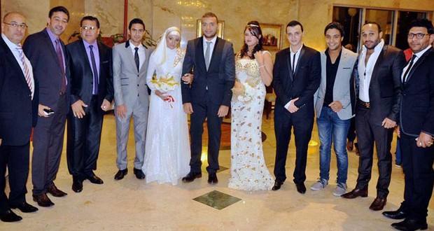 بالصور: خطوبة شقيقة رامي صبري بين الأهل والأصدقاء