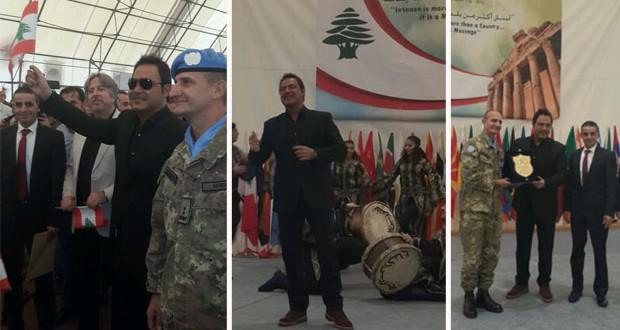 بالصور: عاصي الحلاني كُرِّمَ، إحتفل بعيد الإستقلال وأشعل الـ Unifel بصوته