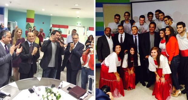 بالصور: عاصي الحلاني إحتفل بعيد الإستقلال وكُرّم في دبي