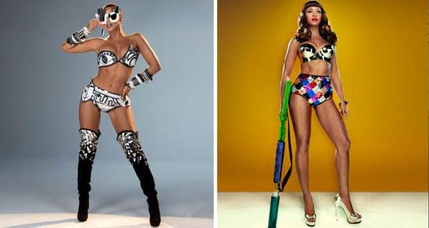 بالصور: Beyonce مثيرة في كواليس تصوير أغنيتها الجديدة