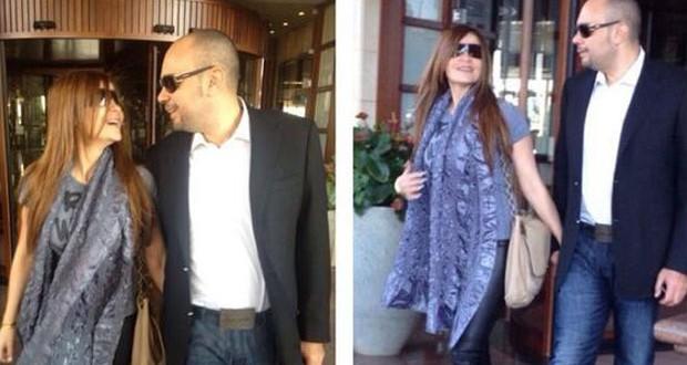بالصور: كارول سماحة عادت إلى بيروت وشهر العسل مطلع العام المقبل
