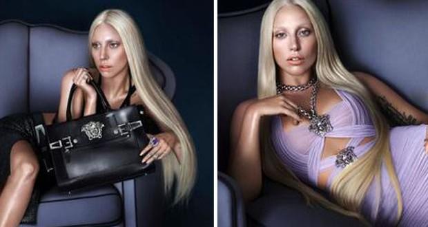 بالصور: Lady Gaga الوجه الإعلاني الجديد لـ Versace