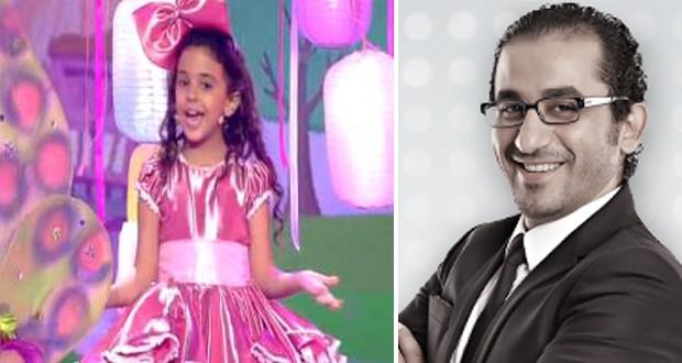 خاص: هذا ما وعد به أحمد حلمي مشتركة Arabs Got Talent الطفلة نور عثمان
