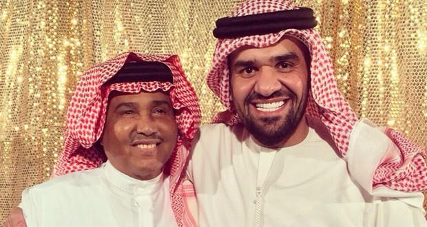 بالصورة: محمد عبده وحسين الجسمي ومعهما الخليج مجتمعاً