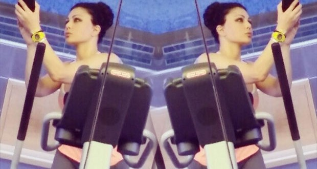 بالصورة: هيفاء في الـ Gym وتناهز المليون الثالث