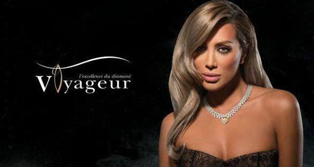 بالصورة: مايا دياب الوجه الإعلاني الجديد لـ Voyageur