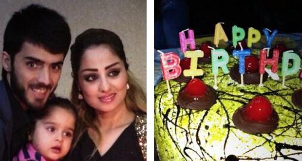 بالصور: برواس حسين إحتفلت بعيد ميلادها وسط عائلتها