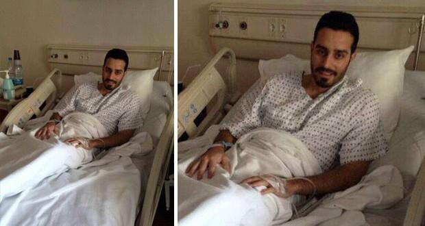 بالصورة: سعد رمضان في المستشفى ومدير أعماله يوضّح