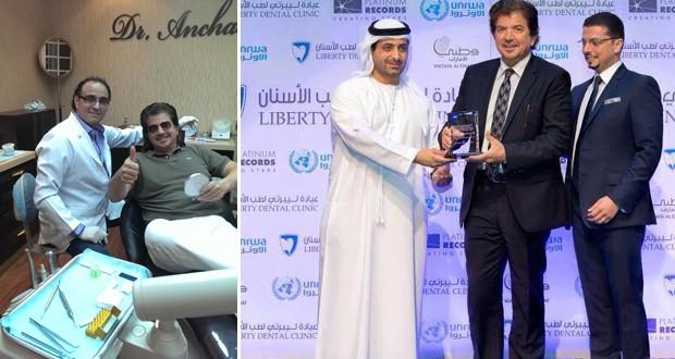 بالصور: وليد توفيق تكريم في دبي … وأنشاصي سمايل في العيادة الدولية