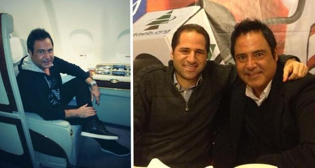 بالصور: عاصي الحلاني فاجأ الشيخ سامي الجميل وتوجّه الى الإمارات