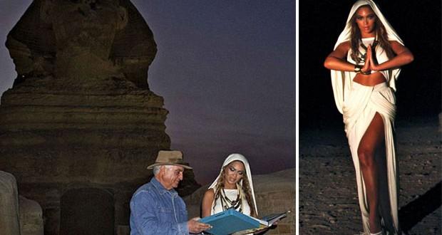 عالم آثار مصري يطرد Beyonce من الأهرامات ويصفها بالحمقاء