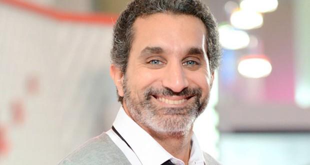 """باسم يوسف يشكر """"أم بي سي مصر"""" على الفواصل الإعلانية"""