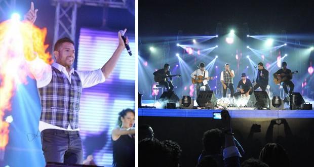 بالصور: محمد حماقي إحتفل بمرور عشر سنوات على مشواره الفني في واحدة من أضخم الحفلات