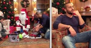 بالصور: جوزيف عطية يحقق حلم طفلين في عيد لميلاد المجيد