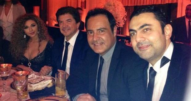 بالصور: عاصي الحلاني، ميريام فارس، وليد توفيق، وجمال فياض معاً في لندن