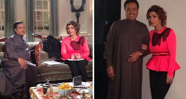 """بالصور: أصالة صوّرت حلقة من """"صولا"""" مع محمد عبده رغم خوفها الشديد"""