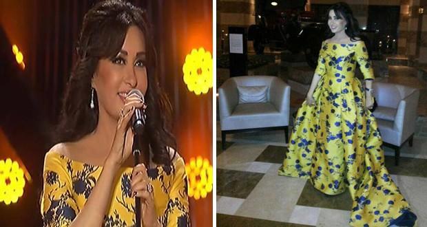 بالصور والفيديو: لطيفة تألّقت بالأصفر في مهرجان سوق واقف وقدّمت أغنياتها القديمة والجديدة