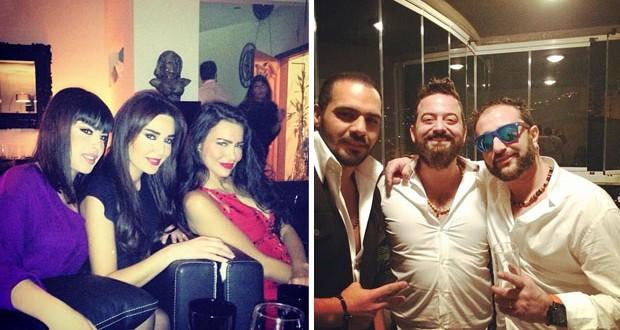بالصور: سيرين عبد النور، جوزيف عطيّة والأصدقاء في عيد ميلاد شربل بو منصور
